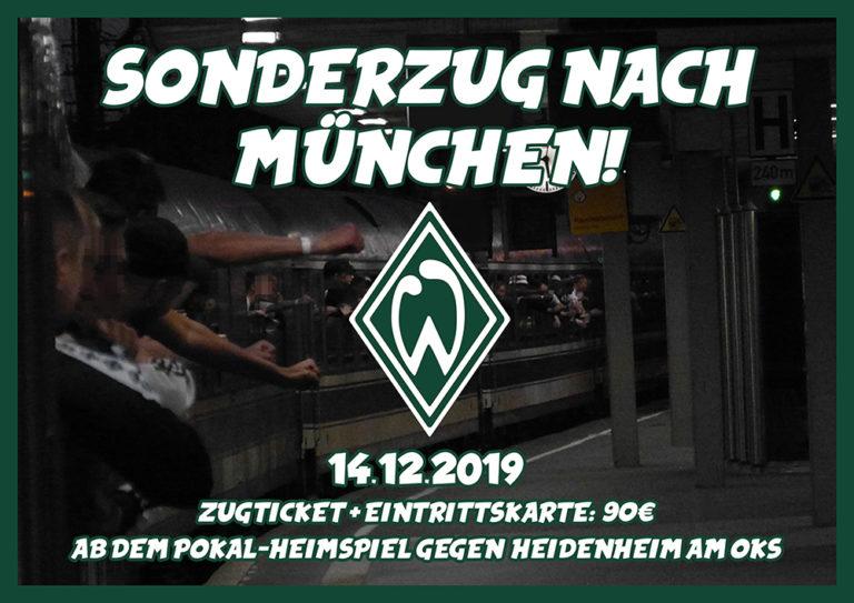 Zugticket Nach München